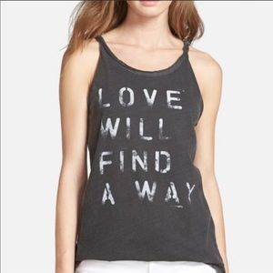 Chaser Love will find a way tank XS